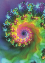 Mandala en fractal kaarten