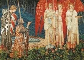 Het verkrijgen van de heilige graal, Burne-Jones