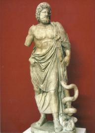 Asclepius, Griekse god van genezing en geneeskunst