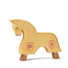 Toernooi paard geel