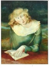 Lezend meisje, Rudolf Schmidt