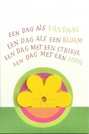 Een dag als vandaag (met bloem), Symposion