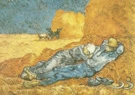 Middagslaapje, Vincent van Gogh