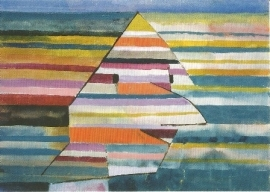 Pyramidale clown, Paul Klee
