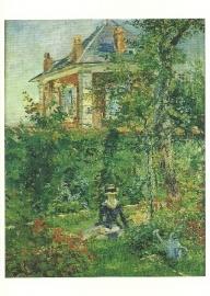 Tuinhoekje van Villa Bellevue, Edouard Manet