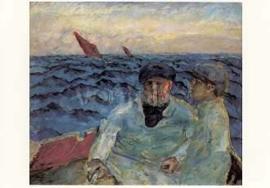 Vissers op de boot, Pierre Bonnard