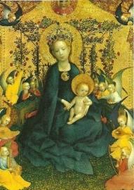 Maria in rozenhaag, Stefan Lochner