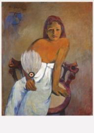 Meisje met waaier, Paul Gauguin