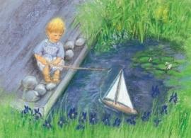 Varen met mijn zeilboot, Marjan van Zeyl