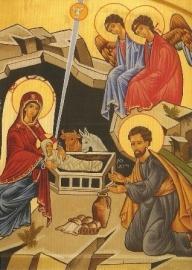 Geboorte Christus, Ikoon vertrek Lazio Rome