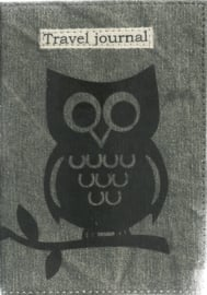 Only natural Travel journal owl