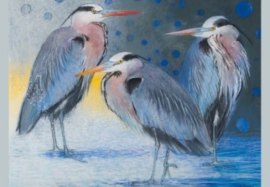 Drie reigers, Loes Botman