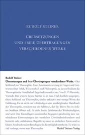 Übersetzungen und freie Übertragungen verschiedener Werke GA 41b / Rudolf Steiner