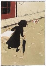 De kleine wasvrouw, Pierre Bonnard