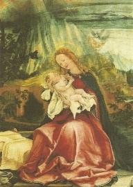 Madonna met kind, Matthias Grünewald