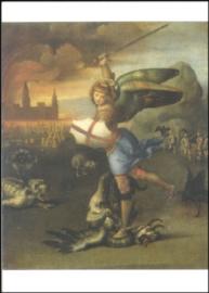 Heilige Michael werpt de duivel neer, Rafael