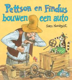 Pettson en Findus bouwen een auto / Sven Nordqvist