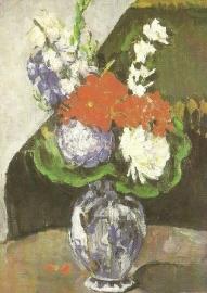 Dahlia's, Paul Cézanne
