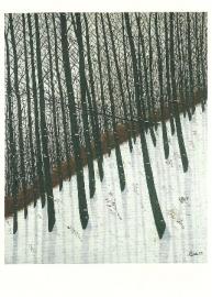 Het bos: winter, Camille Bombois