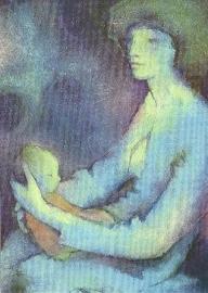 Moeder en kind, Hans Geissberger