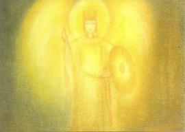 September maandkaart, St. Michael, Ruth Elsässer