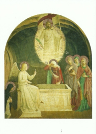 Opstanding en Maria's bij het graf, Fra Angelico