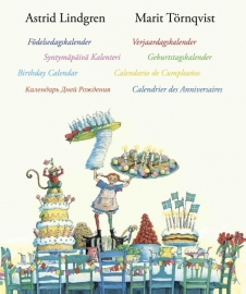 Astrid Lindgren en Marit Tornqvist verjaardagskalender