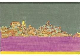 Stad op twee heuvels, Paul Klee