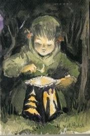 Kind met lantaarn, W.G. van der Hulst