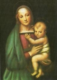 Madonna del Granduca, Rafael