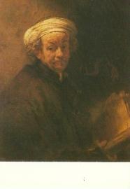 Zelfportret als apostel Paulus, Rembrandt