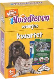 Huisdieren weetjes kwartet (6+)