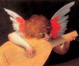 Musicerende engel, Rosso Fiorentino