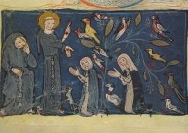 St. Franciscus predikt tot de vogels, Wonnental