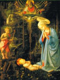 Maria het kind vererend, Fra Filippo Lippi