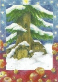 Kerstmis bij de boom, Sanne Dufft