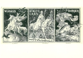 Wodan, Nicolaas en Donar, Cornelis Jetses