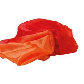 Zijden doek Vuur (90x90cm)