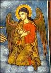 Biddende engel Rhodos, Byzantijns