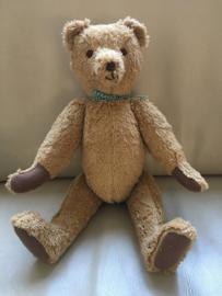 Originele teddybeer, handgemaakt (38 cm)
