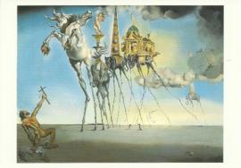 De verzoeking van Sint Anthonis, Salvador Dali