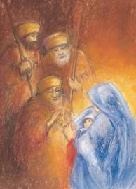 Herders in aanbidding, Marjan van Zeyl