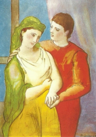 De geliefden, Pablo Picasso