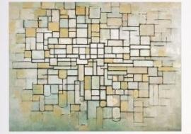 Compositie in lijn en kleur, Piet Mondriaan, 1913