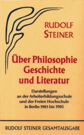Über Philosophie, Geschichte und Literatur  GA 51 / Rudolf Steiner