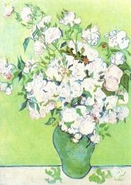 Witte rozen, detail, Vincent van Gogh