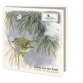 Birds in the snow, Elwin van der Kolk, Vogelbescherming Nederland