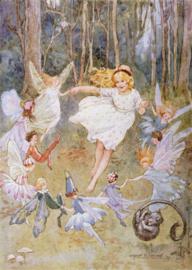 Rondedans met feeën, Margaret Tarrant