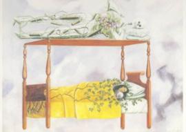 De slaap, Frida Kahlo