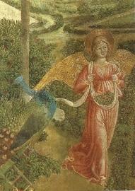 Engel 1 (detail), B. Gozzoli
